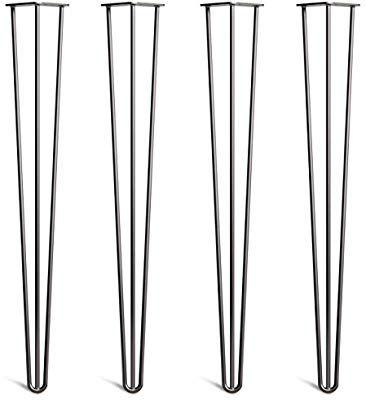 4x Haarnadel Tischbeine Austauschbare Tisch/&Schrank Beine f/ür Heimwerker Mitte des Jahrhunderts Modern Stil Verf/ügbar in H/öhe von 10cm-86cm Freie Bodenschoner und Schrauben