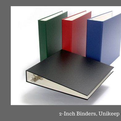 Keep Safe Your Documents And Crucial Papers In A Well Organized Way With Quality 2inch Binder At Unikeep No Matter How Ma Binder 3 Ring Binders Ring Binder