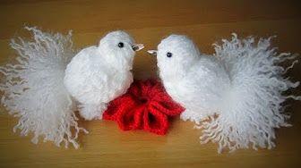 How To Create A Cute Yarn Bird - DIY Crafts Tutorial - Guidecentral - YouTube