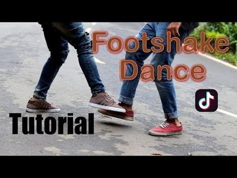 2 Foot Shake Dance Challenge Tik Tok Tutorial Youtube Tik