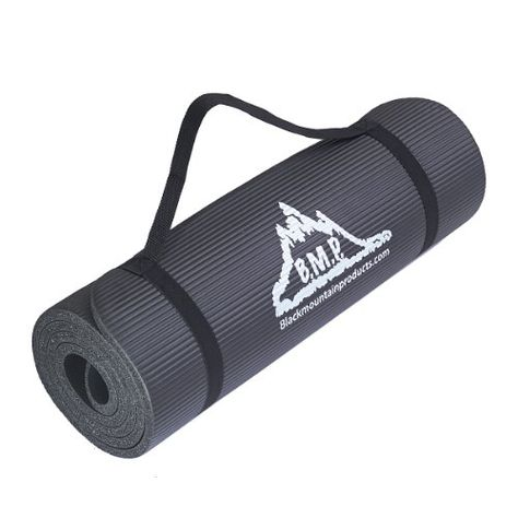 Black Mountain Products Yoga And Exercise Mat Pieds