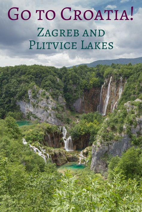 Croatia With Kids Zagreb And Plitvice Lakes Plitvice Lakes Travel Lake Trip