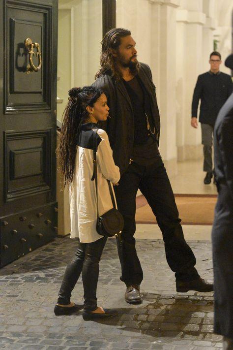 Lisa Bonet and Husband aka Real Man Jason Momoa