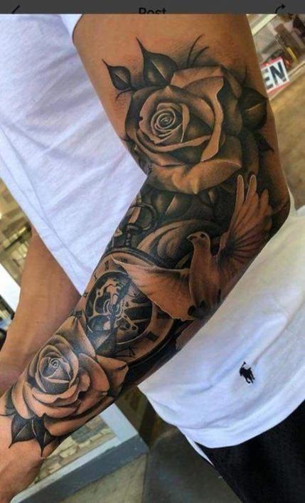 Sleeve tattoo getting a half Should I