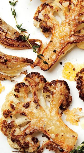 The combination of meaty, caramelized cauliflower florets and some just-this-side-of-burnt onions has become our go-to winter side dish. #vegetarian