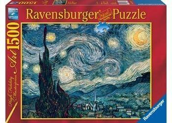 Ravensburger 1500pc Van Gogh Starry Night Puzzle Giftryapp Starry Night Van Gogh Starry Night Art