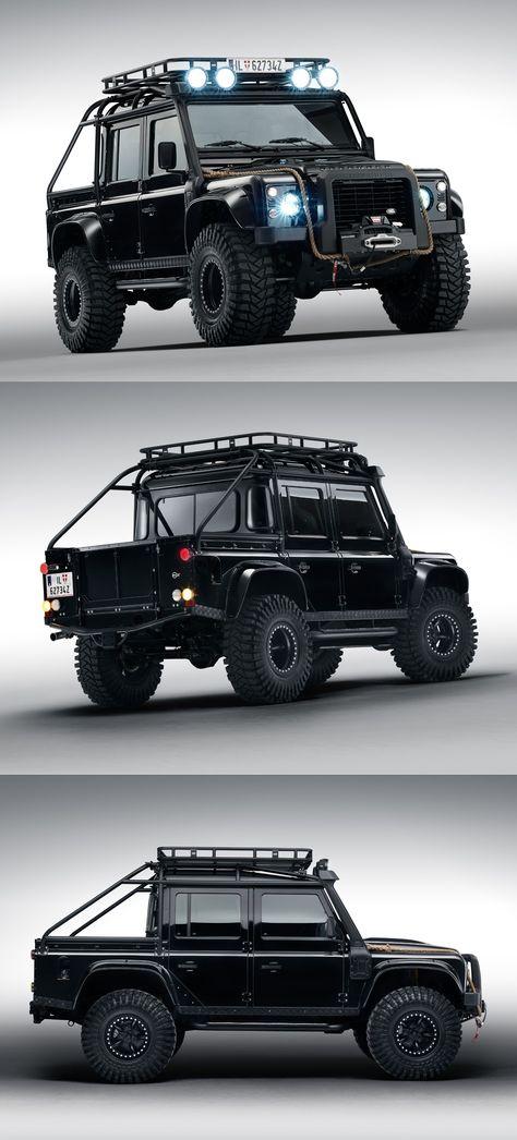 Land Rover Defender from James Bond Spectre