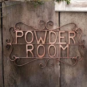 Powder Room Sign Bathroom Wall Decor Bathroom Decor Etsy In 2020 Powder Room Signs Bathroom Signs Room Signs