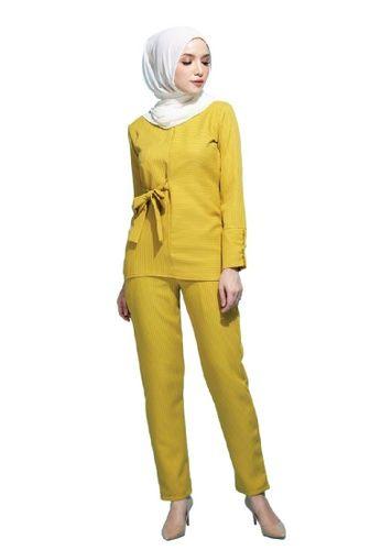 Baju Kuning Mustard