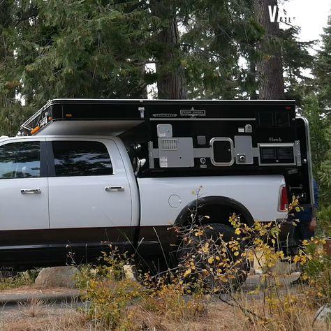Short #howto video on a #fourwheelcamper by #vanclan #popupcamper #truckcamper