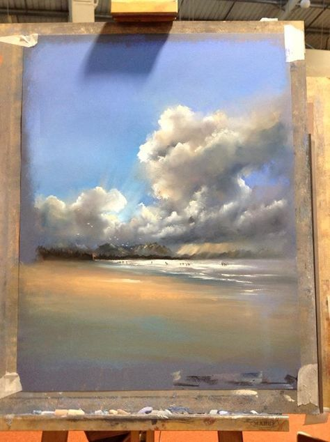 Landscaping Drawing Sea 67 Best Ideas Pastel Artwork Pastel Landscape Landscape Paintings