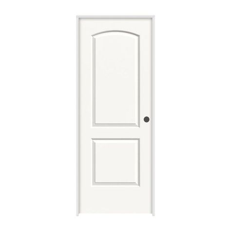Jeld Wen 28 In X 80 In Continental White Painted Left Hand Smooth Molded Composite Mdf Single Prehung Interior Door Prehung Interior Doors Interior Closet Doors Interior Design Instagram