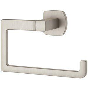 Speight Wall Mounted Towel Hook Towel Rings Pfister Brushed Nickel Bathroom