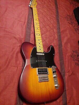 Fender Modern Player Telecaster Plus Honey Burst Electric Guitar Used In 2020 Electric Guitar Fender Telecaster Fender American