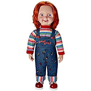 Good Guys Chucky Mens Costume And Mask Childs Play 2 Adult Halloween Film Outfit