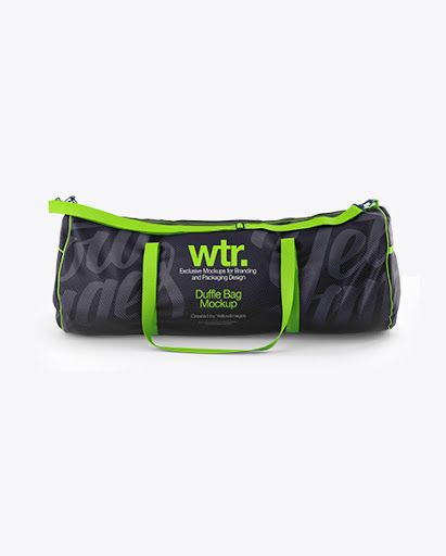 Download Download Duffle Bag Mockup Front View Bag Mockup Design Mockup Free Clothing Mockup