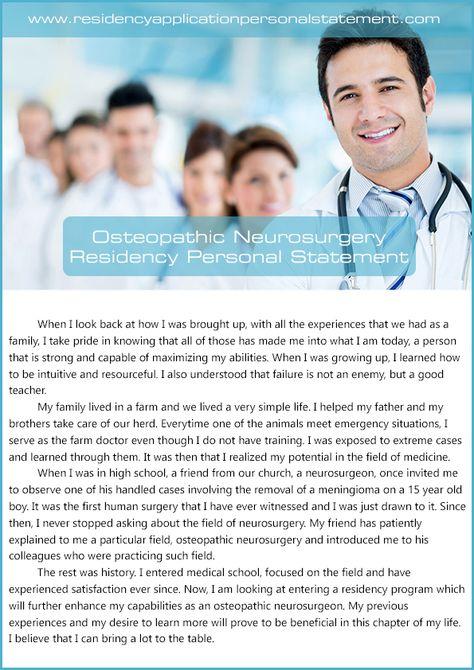 wwwneurosurgeryresidency neurosurgery-personal - personal statement residency