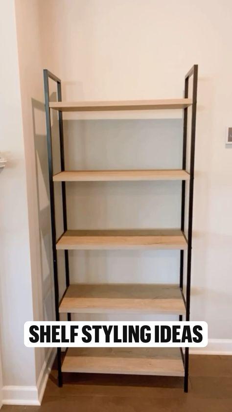 Shelf styling ideas