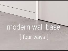Image Result For Reveal Baseboard With Kerf Door Jamb Modern Baseboards Baseboards Concrete Floors