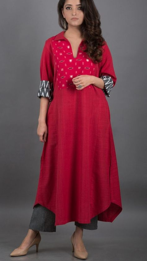 RESHA Womens Cotton Kurta