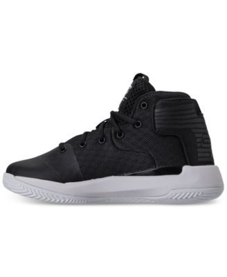 751380c66e18 Under Armour Little Boys  Curry 3Zero Basketball Sneakers from Finish Line  - BLACK WHITE BLACK 11