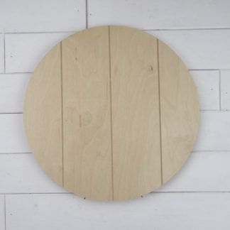 Round Wooden Birch Plaque 1 2 Craft Dealz In 2020 Wooden Cutouts Wooden Wood Door Hangers