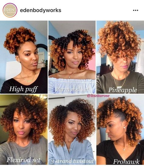 I love the variety  FOLLLW‼️ The Best Blog Ever!!! Www.CapriTimes.com ✨✨✨✨ Follow for More Hairstyles, Tips & More @CapriTimes IG @ItsCaprii #WeaveHairstylesCurly