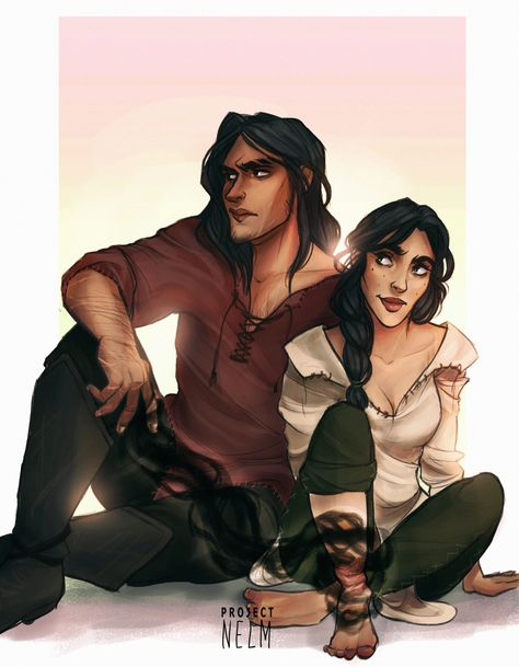 Lorcan and Elide by ProjectNelm. Empire of Storms. EoS