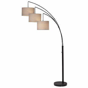 3 Arm Floor Lamp Floor Lamp Flooring Couch Furniture