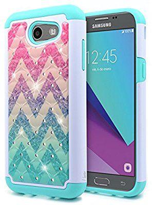 new concept aa2bb 726e3 Amazon.com: Galaxy J3 Luna Pro Case, Galaxy J3 Prime/J3 Eclipse/J3 ...