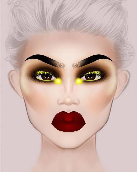 Mac Eye Makeup, Rimmel Makeup, Edgy Makeup, Elf Makeup Dupes, Makeup Eye Looks, Crazy Makeup, Contour Makeup, Pretty Makeup, Makeup Inspo