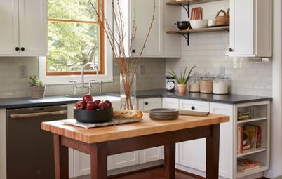 My Houzz White Paint And Light Floors Transform A Chicago Loft Kitchen Trends Kitchen Trends Kitchen Kitchen Design