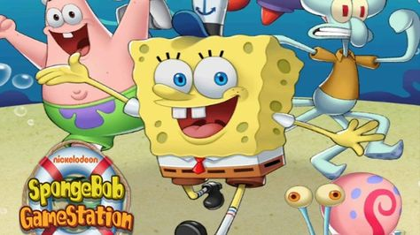 Kids games SpongeBob Station vs My Talking cat Angela   Video Games     Kids games SpongeBob Station vs My Talking cat Angela   Video Games and  cartoons for kids   Pinterest   Game spongebob