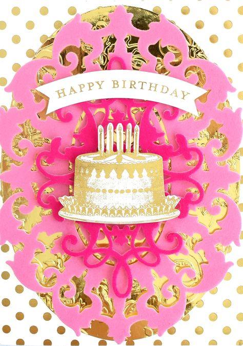 Cake Theme Notting Hill Range of Cards. Birthday Card Make A Wish
