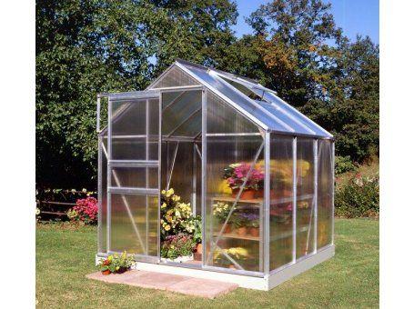 Serre Popular En Polycarbonate 3 8 M En Aluminium Avec Base Maison Verte Mini Serre De Jardin