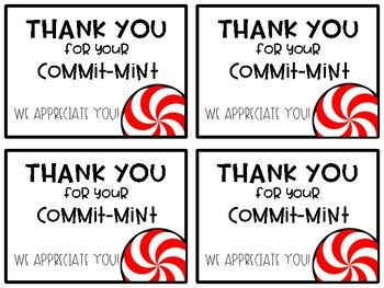 photo about Thank You for Your Commit Mint Printable named Thank on your own for your devote \