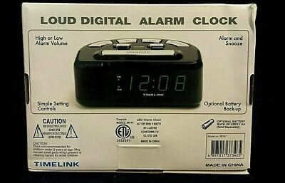 Digital Alarm Clock Black Timelink Fashion Home Garden Homedcor Clocks Ebay Link In 2020 Alarm Clock Digital Alarm Clock Clock