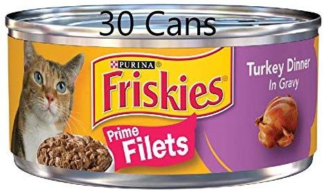 30 Cans Of Purina Friskies Wet Cat Food 5 5oz Ea Prime Filets