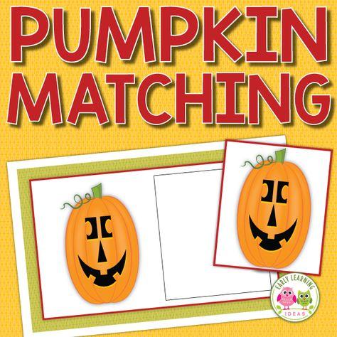 Pumpkin Matching Activity