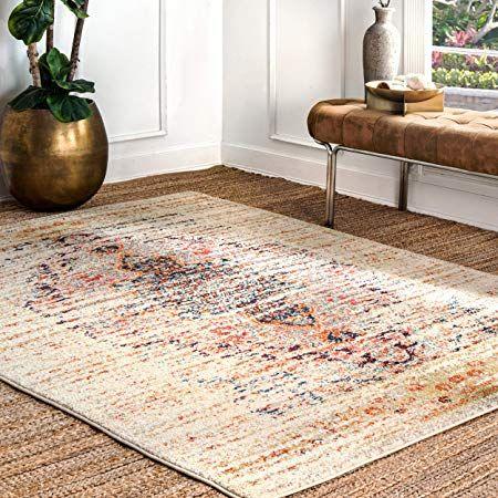 Nuloom Vintage Distressed Persian Sarita Large Area Rug 10 X 14 Sand Large Area Rugs Area Rugs Persian Area Rugs