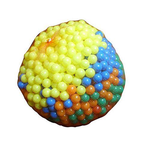 1000 Bälle Bällebad Babybälle Plastikbälle Kinderbälle in 5 verschiedenen Farben