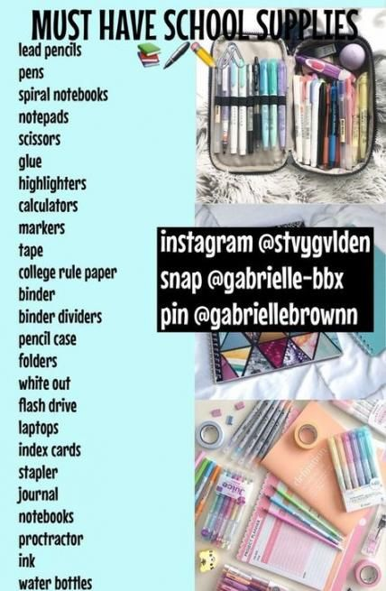 Diy school supplies for teens education 34+ Ideas for 2019