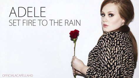 Adele Set Fire To The Rain Official Acapella Download Link