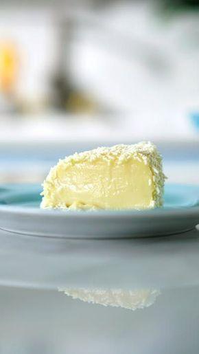 Torta Cremosa De Chocolate Blanco Receta Comidas Dulces