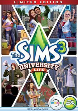 The Sims 3: University Life!
