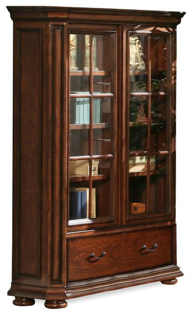 Bookcase Glass Doors Luxury Riverside Cantata 76 Glass Door