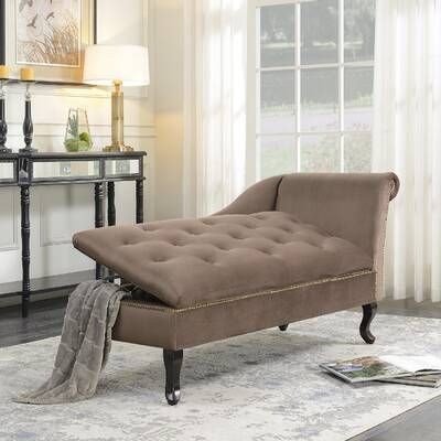 Cordella Chaise Lounge In 2021 Storage Chaise Lounge Lounge Chairs Living Room Living Room Chaise
