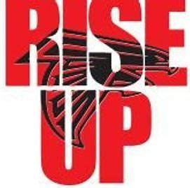 Image Result For Atlanta Falcons Rise Up Logo Atlanta Falcons Rise Up Falcons Rise Up Atlanta Falcons