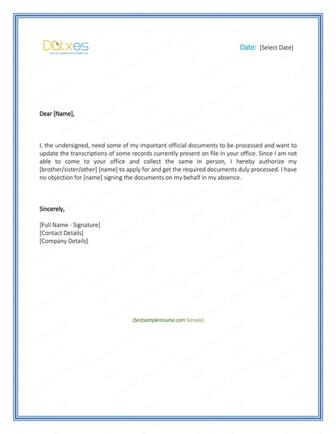sample authorization letter request bank statement cover letternk - shampoo assistant sample resume