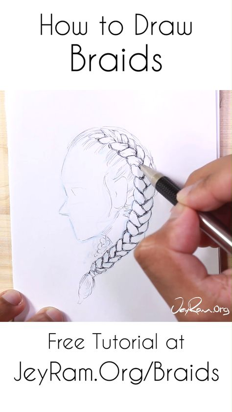 french braid hairstyles videos easy Step By Step Pinterest